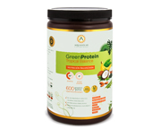 AQUASOLAR PROTEINA VEGETAL GREEN PROTEIN 600GR TROPICAL